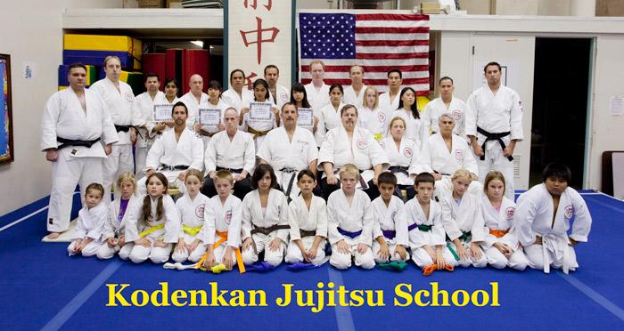 Kodenkan Jujitsu Dojo Class Photo 2009