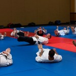 Prof. Tony Janovich teaches kiaijutsu in 2013