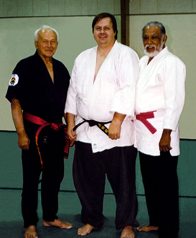 Prof. Arrington with Profs. Kufferath and Ancho