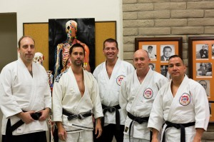 Senseis Karl Mueller, Mike Urmeneta, Chris Love, Dan van Hook, Guillermo Hernandez at Okugi 2013