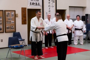 Sensei Guillermo Hernandez receives his 2013 Okugi certificate