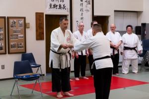 Sensei Guillermo Hernandez receives his 2013 Okugi certificate