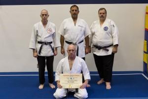 Sensei Dan van Hook is promoted to 2nd Dan in 2012