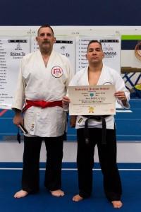 Sensei Guillermo Hernandez, Jr. promoted to Sandan