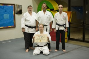 Sensei Karl Mueller receives his Nidan in 2006