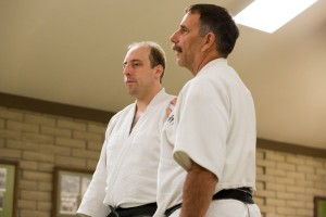 Prof. Tony Janovich and Sensei Karl Mueller at Okugi 2013