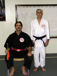 Sensei Cliff Reis promoted to shodan