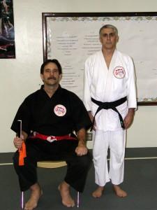 Sensei Cliff Reis promoted to shodan