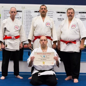 Sensei Karl Mueller promoted to Yodan