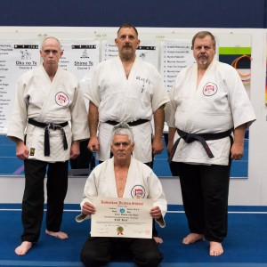 Sensei Cliff Reis, promoted to Yodan