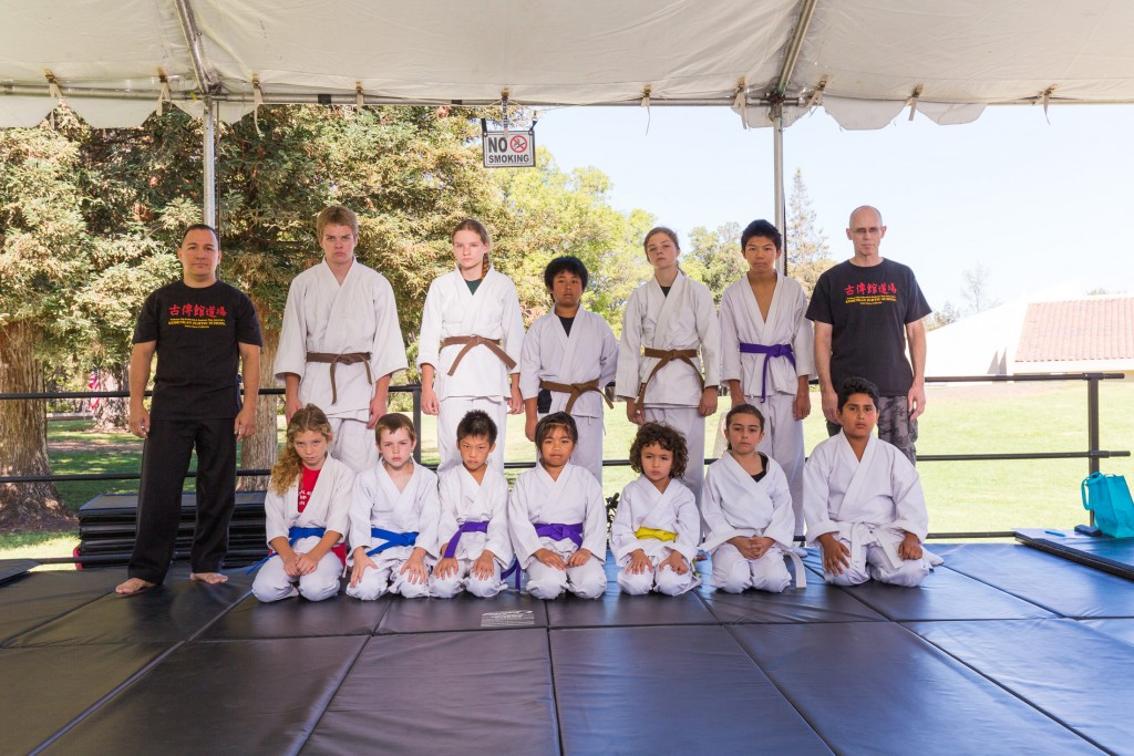 2015 Kids Demo Team, Led by Prof. Clive Guth and Sensei Guillermo Hernandez, Jr.
