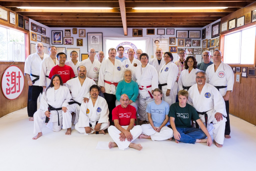Instructors and students of the Kappo Class, including Bernice Jay.