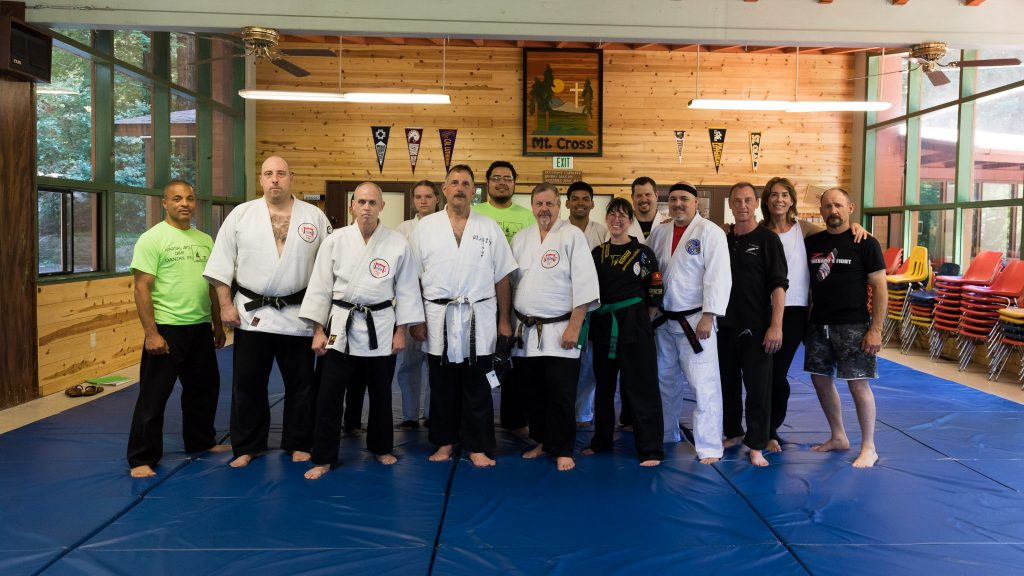 Prof. Janovich's Ending the Attack Class at Camp Danzan-Ryu 2017